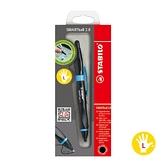 SMARTball2.0 智能樂人體工學觸控原子筆/左手專用黑藍桿黑色筆芯【STABILO思筆樂】