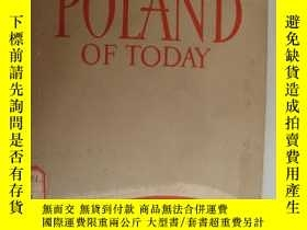 二手書博民逛書店POLAND罕見OF TODAY 《今日波蘭》 大量圖片附帶一張