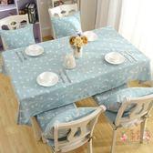 桌布 - 繡花布藝棉麻歐式田園餐桌