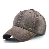 男帽 棒球帽 簡約 做舊 素色 歐美風 運動 遮陽 防曬 鴨舌帽 棒球帽