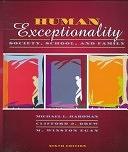 二手書博民逛書店 《Human Exceptionality: Society, School, and Family》 R2Y ISBN:0205280390│Prentice Hall