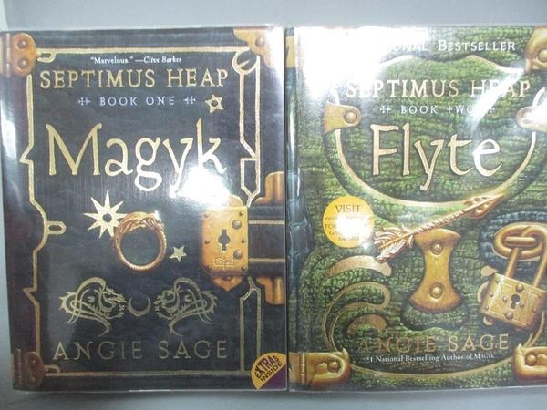 【書寶二手書T5/原文小說_IHN】Septimus Heap: Magyk & Flyte_Sage, Angie/