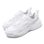 【海外限定】Puma 休閒鞋 Thunder L Spectra 白 全白 男鞋 復古慢跑鞋 皮革鞋面 運動鞋 【ACS】 37068201