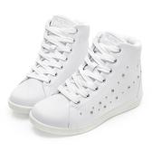 PLAYBOY 晶鑽高筒 內增高休閒鞋-白(Y5222白)