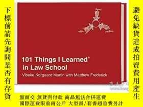 二手書博民逛書店101罕見Things I Learned In Law SchoolY364682 Vibeke Norga