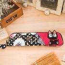 Kiro貓‧點點小黑貓雙人環保筷套/筆袋...