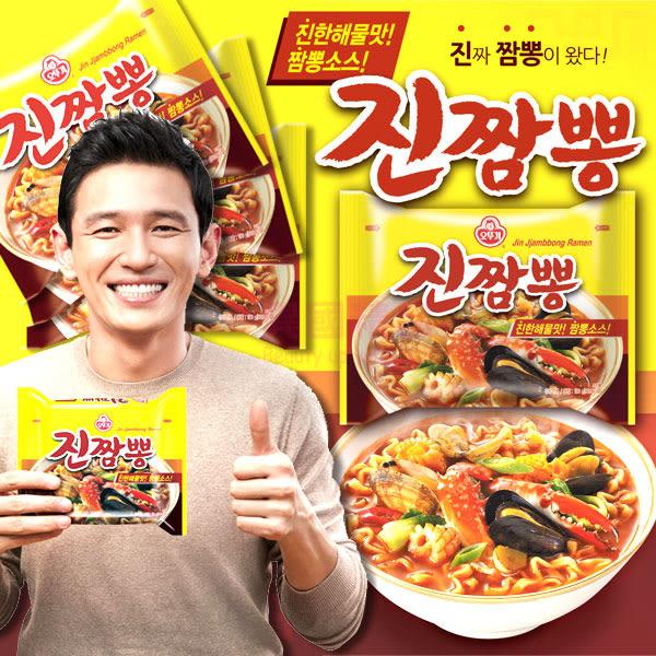 韓國 不倒翁 OTTOGI 螃蟹炒碼麵 4入/袋【特價】★beauty pie★