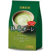 【日東紅茶】  抹茶歐蕾120g(10包入)