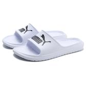 PUMA 拖鞋 DIVECAT V2 白 膠拖 輕量 運動 休閒 男女(布魯克林) 36940002