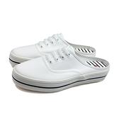 Mami rabbit 休閒布鞋 前包後空 白色 女鞋 MT-824A-02 no071