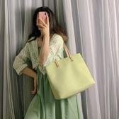 大包包女新款潮韓版百搭側背包大容量學生托特包簡約手提女包  宜室家居