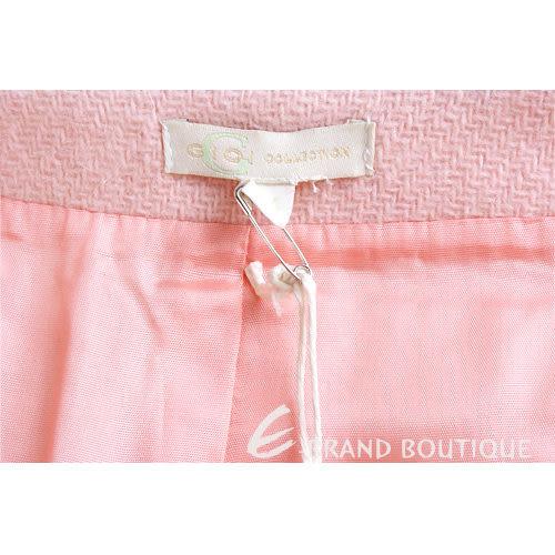 G.I.O.I 亮鑽飾毛料及膝裙(粉色) 0510733-05