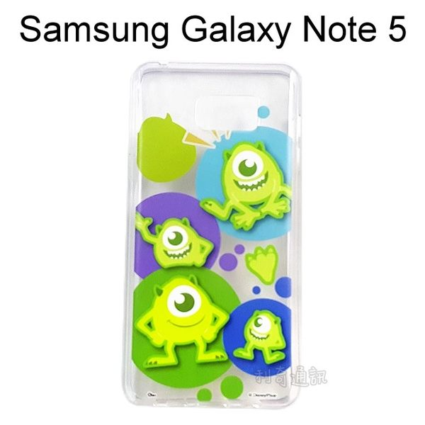 迪士尼透明軟殼 [人物] 大眼仔 Samsung N9208 Galaxy Note 5【Disney正版授權】
