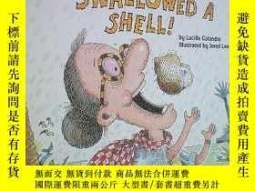 二手書博民逛書店There罕見Was an Old Lady Who Swallowed a Shell!(There Was a