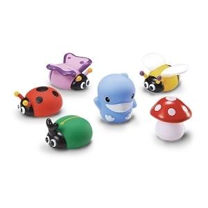 KUKU酷咕鴨 水中玩具-花園昆蟲組(KU1111)(顏色隨機出貨)[衛立兒生活館]