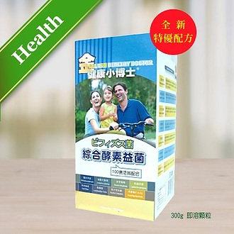金健康小博士 綜合酵素益生菌(300g)
