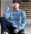 毛衣男-秋冬季男士毛衣寬鬆秋裝上衣針織打底衫韓版冬裝潮流高領厚款外套 多麗絲
