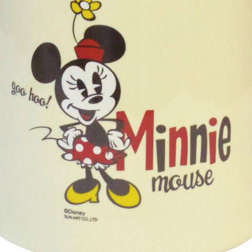 《sun-art》迪士尼米奇歡笑多系列米妮大耳陶磁置物罐★funbox生活用品★_NR23794