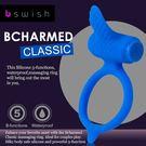 ■■iMake曖昧客■■美國BSwish-Bcharmed Classic著迷經典型5段變頻震動環-彩藍色