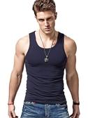 背心男 棉質背心男士運動健身緊身內穿無袖跨欄打底汗彈力透氣夏季潮外穿【免運】
