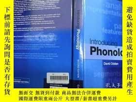 二手書博民逛書店Introducing罕見PhonologyY256150 Da