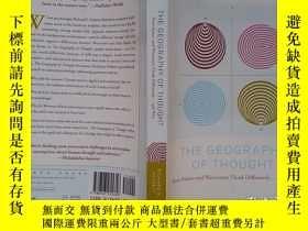 二手書博民逛書店The罕見Geography of Thought: How Asians and Westerners Thin