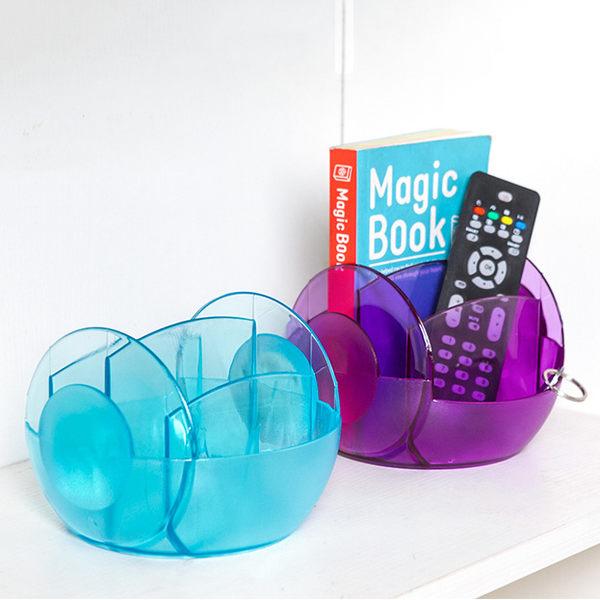 多功能創意遙控器收納盒 桌面收納盒 筆筒文具收納【SV8122】快樂生活網