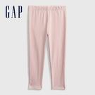 Gap女幼童 布萊納系列 基本款純色針織褲 760343-淡粉色