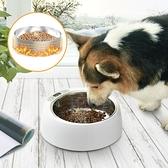 餵食器 新品寵物智慧恒溫加熱保溫貓碗狗碗不銹鋼糧食盆飲水機干糧水熱奶 宜品