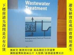 二手書博民逛書店Wastewater罕見Treatment: Biological and Chemi... (見圖)Y255