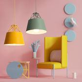北歐餐廳LED燈具飯廳餐桌客廳辦公室書房燈創意簡約現代日式吊燈限時八九折