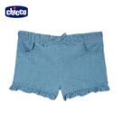 chicco-TO BE-牛仔荷葉邊短褲