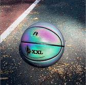 籃球 夜光反光籃球DXXL熊斯女生粉色7號耐磨防滑
