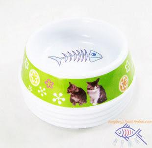 寵物食具出口品質密胺材質 小號(顏色隨機)
