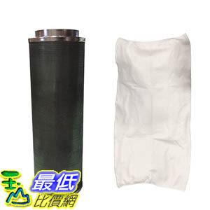 """[106美國直購] 10x40"""" Carbon Inline Fan Filter & Odor Control, Premium Filtration Part # GLFILT10L Perfect"""