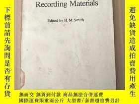 二手書博民逛書店holographic罕見recording materials(P3678)Y173412