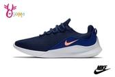 NIKE VIALE 慢跑鞋 男款 網眼透氣 綁帶運動鞋 O7252#藍色◆OSOME奧森鞋業