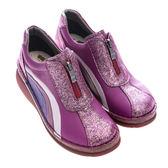 newMODO鉑金款/高跟夾鏈/舒適內裡-THE ONE 氣墊鞋(全牛皮)-F52131 紫