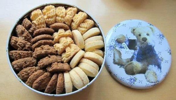 (代購) 香港 Jenny Bakery 珍妮曲奇 小四味奶油曲奇 320g 小熊餅乾 4mix 手工餅干 餅乾