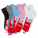 Roberta Colum 諾貝達6雙入素面短童襪R3006 隨機取色 台灣製