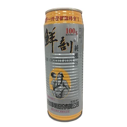半天水鮮剖100%天然純椰汁520mlx3【愛買】