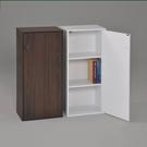 ONE HOUSE-日式三格有門書櫃 附門組合櫃 收納櫃 置物櫃 高低櫃