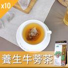 【牛蒡茶】牛蒡茶/養生茶/養生飲-3角立體茶包-27包/袋-10袋/組-BurdockTea-10