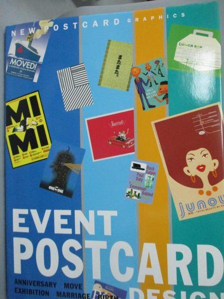【書寶二手書T3/設計_QJB】Event postcard design_日文書_Not Available