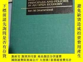 二手書博民逛書店ECONOMICS:principles罕見and policy in an open economy(經濟學:開