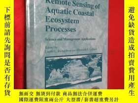 二手書博民逛書店Remote罕見Sensing of Aquatic Coast