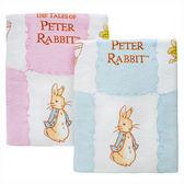 【奇哥】Peter Rabbit 比得兔印花大浴巾(藍)
