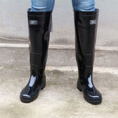 過膝超高筒褲雨靴下水雨鞋防水靴插秧靴子捕釣魚雨鞋釣魚高水靴 igo 范思萊恩