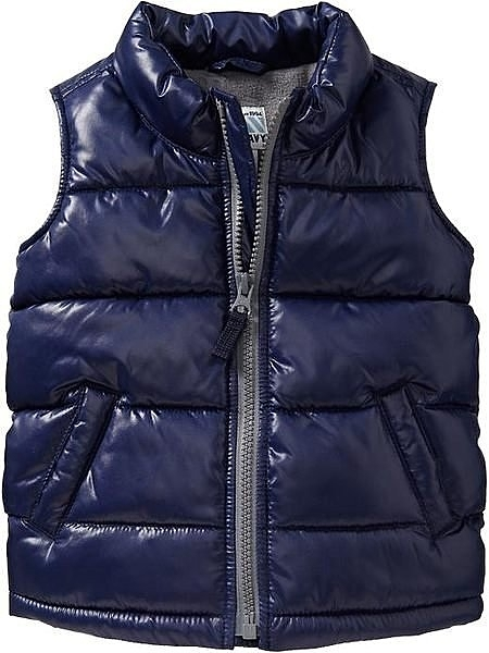 【BJ.GO】美國OLD NAVY 童裝_Frost-Free Quilted Vests for Baby 帥氣刷毛絨保暖背心 新品現貨