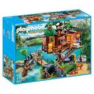 摩比積木 playmobil 野生 冒險樹屋